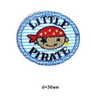 Термоаппликация BA1033 «Маленький пират»