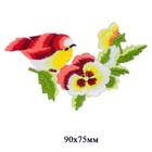 Термоаппликация EМВ-17054 «Красная птица»