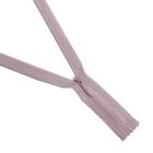Молния Т3 потайная 20 см  SBS №512 св. розовый