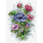 Набор для вышивания М.П.Студия М-122 «Цветы осени»