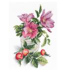 Набор для вышивания М.П.Студия НВ-565 «Нежный шиповник» 21*31 см