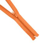 Молния Т5 разъемн. спираль 45 см №157 оранжевый