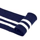 Подвяз трикотажный п/э ГД15043 13*125 см темно-синий/белый