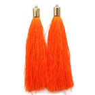 Кисти цветные декоративные Астра уп.2 шт.  6840 оранжевый