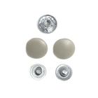Кнопки Прот. 15 мм пласт. 7160  св.-серый