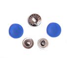 Кнопки Прот. 15 мм пласт. 7163  голубой