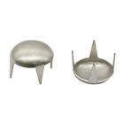 Украшение П. с шипами 10 мм полусфера никель 53206