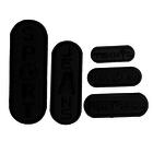 Термоаппликация 2377 «SPORT» набор 5 шт черный