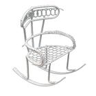 Декор K9020 Металл кресло-качалка 6*9*7см 7712318