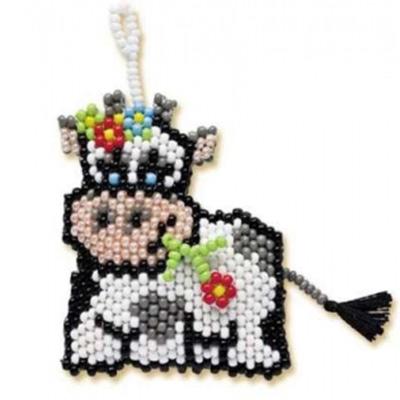 Набор для бисероплетения Риолис Б104 «Коровка» 4*5 см в интернет-магазине Швейпрофи.рф