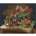 Рисунок для вышивания бисером Астрея (Gluria) 70034 «Вино и розы» 30*26 см