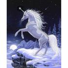 Рисунок для вышивания бисером Астрея (Gluria) 72024 «Единорог» 32*40 см
