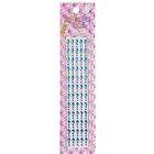 Декор. наклейки со стразами №2 (уп. 180 шт.) 4 мм 1036/7421 бирюзовый