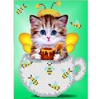 Рисунок для вышивания бисером Каролинка КБЖ-5025 «Сластена» 12,5*16 см