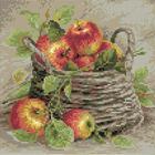 Алмазная мозаика Риолис АМ0015 «Спелые яблоки» 27*27см