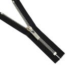 Молния TIT Т10 мет. 20 см литая никель/чёрный