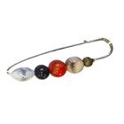 Булавка декоративная MT 1734 «Круглые камни»
