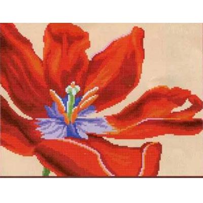 Рисунок для вышивания бисером HP СБ-1020 «Раскрытый тюльпан» 18*22 см в интернет-магазине Швейпрофи.рф