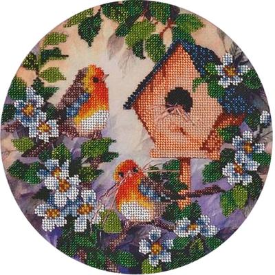 Рисунок для вышивания бисером HP СБ-3053 «Весенние хлопоты» 18*22 см в интернет-магазине Швейпрофи.рф