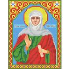 Рисунок для вышивания бисером Каролинка КБИ-5009  «Анна Пророчица»  13*18 см