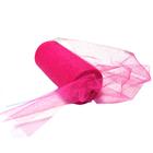 Фатин TBY.C в шпульках с глиттером шир. 150 мм  (уп. 22,86 м) 003 розовый