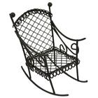 Металл KB2783RU кресло-качалка 8*4,5*7,5 см 7717632 коричневый