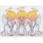 Набор для вышивания Dimensions 65167 «Маленькие ангелы» 12,7*17,7 см