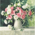 Набор для раскрашивания Hobruk HS0221 «Летние цветы»
