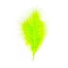 Перья Астра (20 г) НТ108А22 9-13 см  индейка (11 ярко-салатовый)  7718483