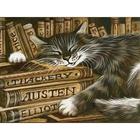 Алмазная мозаика АЖ-1516 «Библиотекарь»