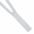 Молния Т3 потайная G013P 20 см сатин (плотная) белый
