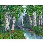 Рисунок для вышивания бисером Вышивай-Ка ВК-04-008 «Солнечный день» 20*26 см