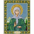 Набор для вышивания бисером Паутинка Б-0715 «Св.Бл.Матрона Московская» 14*18 см
