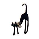 Брошь BR 848 «Кошка с бантом»