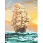 Рисунок для вышивания бисером Каролинка КБП-3018 «Попутный ветер» 27*36 см