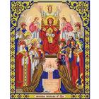 Рисунок для вышивания бисером Благовест 20*25 см И-4010 Похвала Пр. Богородицы
