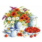 Рисунок на канве Каролинка КК-046 «Лето» 23*30 см
