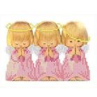 Рисунок для вышивания бисером Каролинка КБА-5009/1 «Почти идеальный» в розовом 12*16,6 см