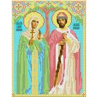 Рисунок для вышивания бисером Каролинка КБИ-4030 «Св.Петр и Феврония»