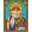Рисунок для вышивания бисером Каролинка КБИ-4036 «Св.Княгиня Ольга» 18*24 см