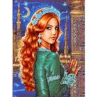 Рисунок для вышивания бисером Каролинка КБЛ-3006 «Султанша Хюррем» 27*33,7 см