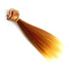 Волосы для кукол (трессы) Элит В-100 см L-17 см двухцветн. КЛ.26302 рыжий