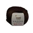 Пряжа Бэби Вул XL (Baby Wool XLGazzal ), 50 г / 100 м  807 коричневый
