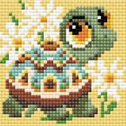 Алмазная мозаика Риолис АМ0020 «Черепаха» 10*10 см