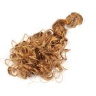 Волосы для кукол (трессы) кудри 2294345 В-50 см L-40 см №27 русый