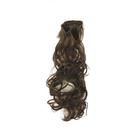 Волосы для кукол (трессы) кудри 2294359 В-50 см L-40 см №4А каштан
