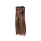 Волосы для кукол (трессы) Прямые 2294882 длина 15 см ширина 100 см 8В