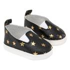 Обувь для игрушек (Сандали) MISU-20 «Звездочки»  7 см черный 7723750