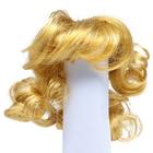 Волосы для кукол AS16-20 5*10  см парик (кудри) рыжий