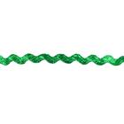 Тесьма вьюнчик 5 мм (рул. 20 м)   зелёный